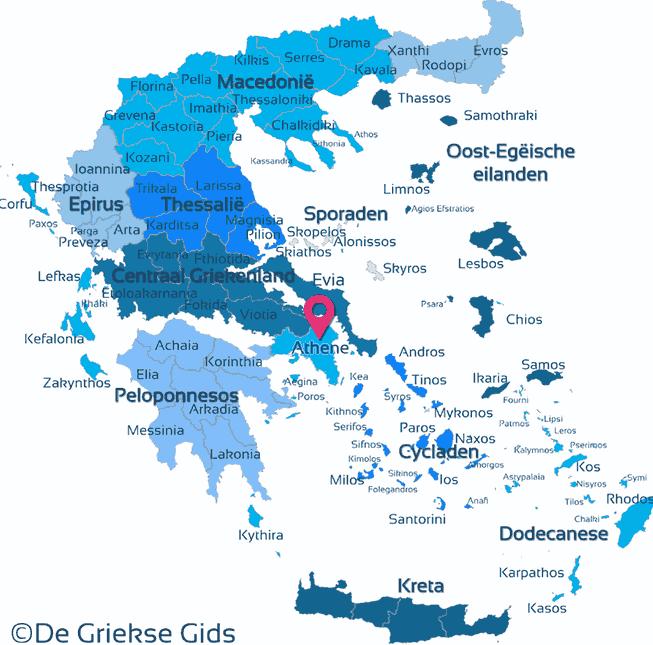 Map of Attica