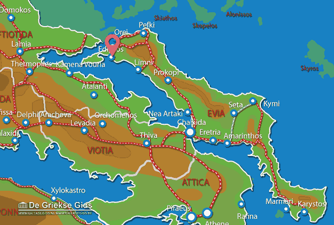 Map of Aedipsos