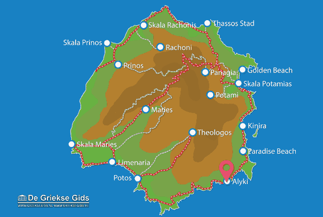 Map of Alyki