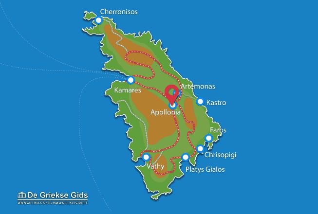 Map of Apollonia