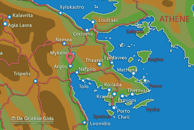 Map of Argos