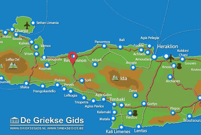 Map of Armeni
