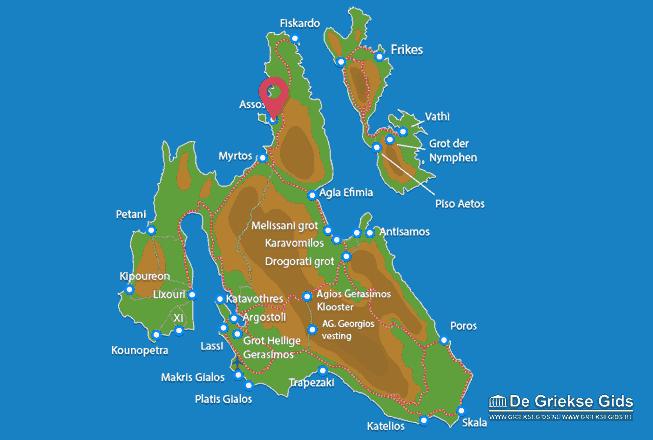 Map of Assos