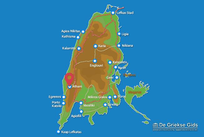 Map of Athani