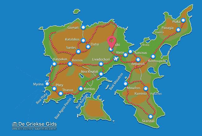 Map of Atsiki