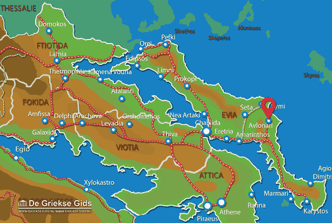 Map of Avlonari