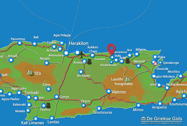 Map of Hersonissos