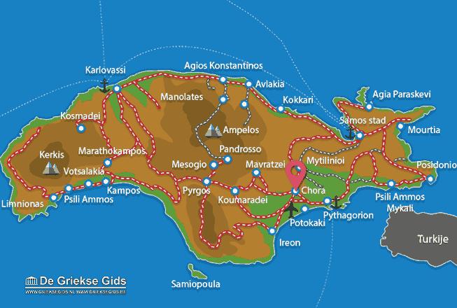 Map of Chora
