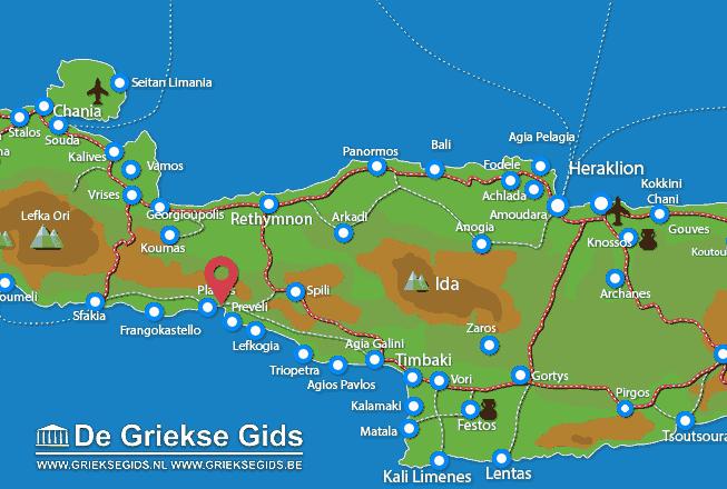 Map of Damnoni