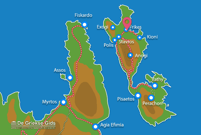 Map of Frikes