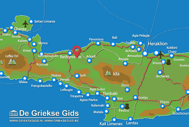 Map of Gianoudi