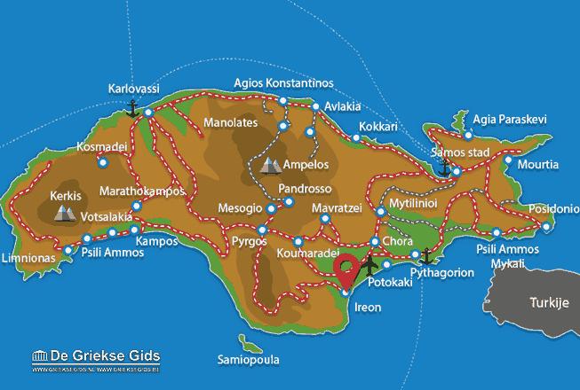 Map of Ireon