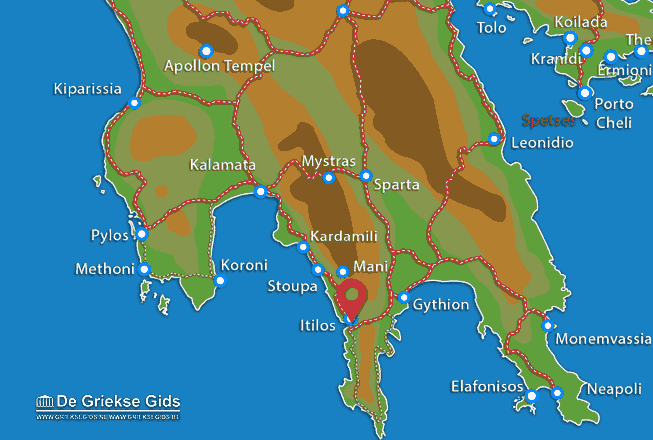 Map of Itilos