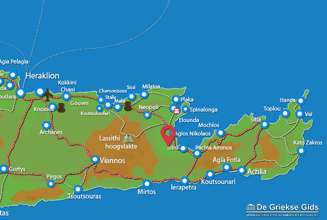 Map of Kalo Chorio