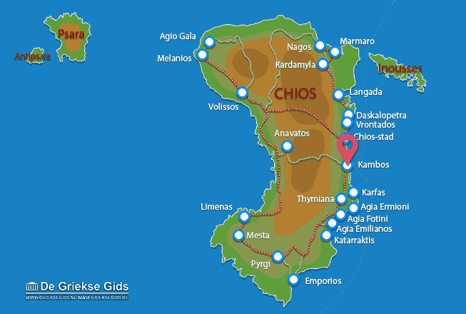 Map of Kambos
