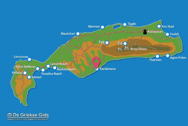 Map of Kardamena