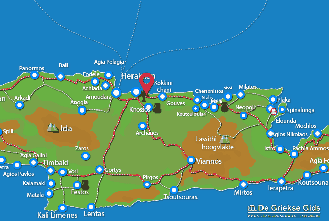 Map of Karteros