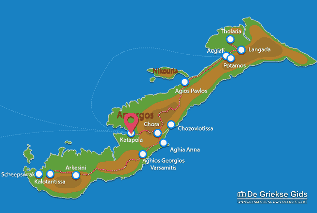 Map of Katapola