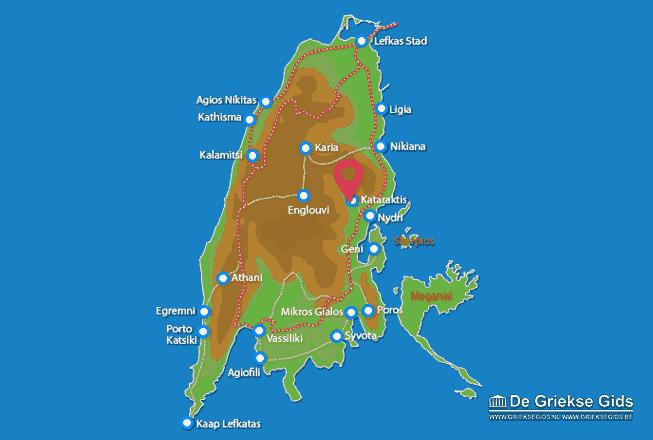 Map of Kataraktis
