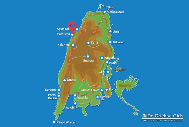 Map of Kathisma