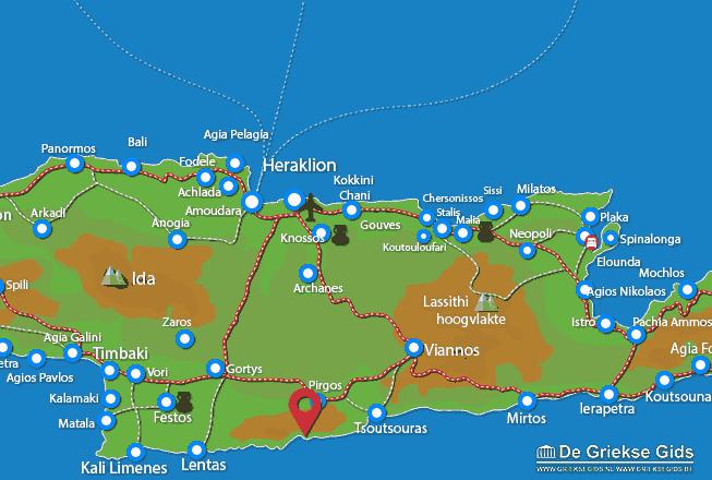 Map of Koudoumas
