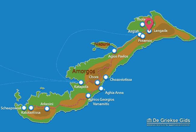 Map of Langada
