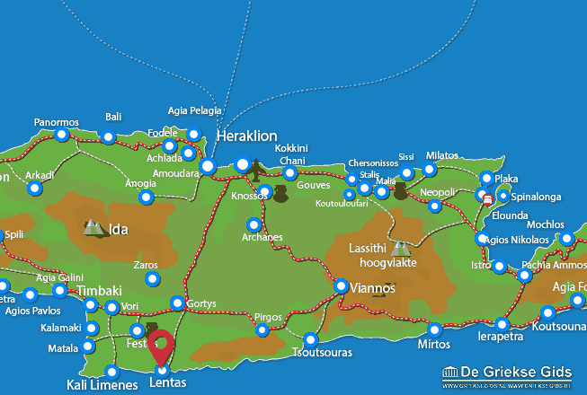 Map of Lendas