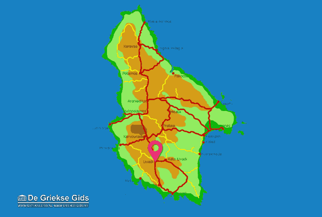 Map of Livadi