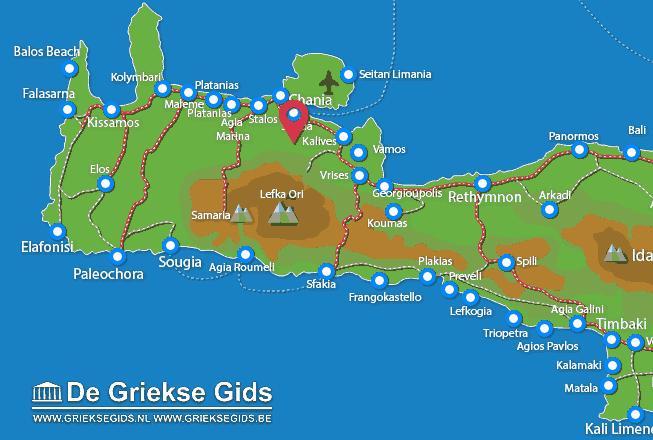 Map of Malaxa