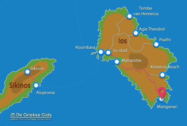 Map of Manganari