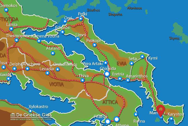Map of Marmari
