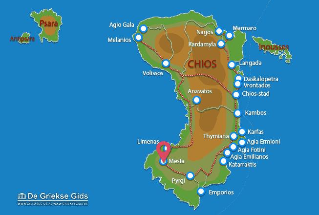 Map of Mesta