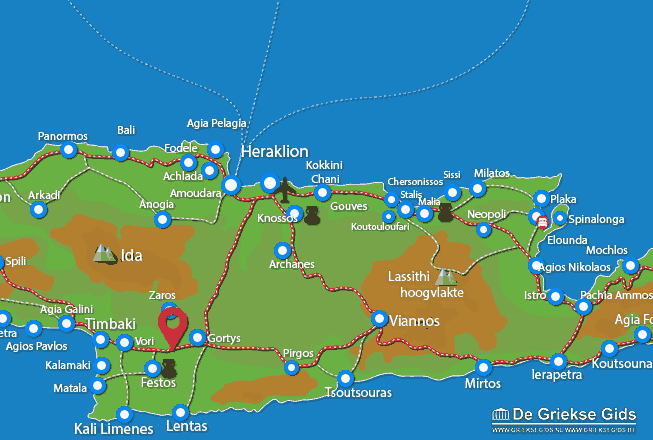 Map of Mires