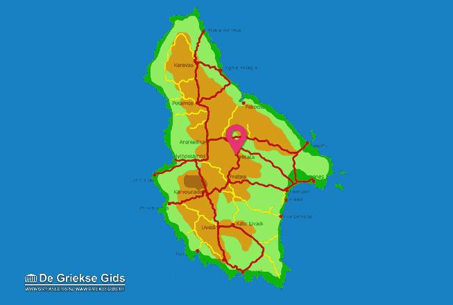 Map of Mitata