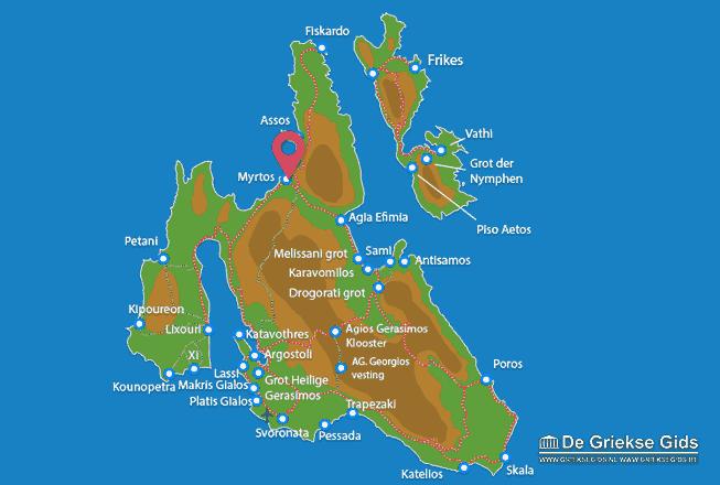 Map of Myrtos