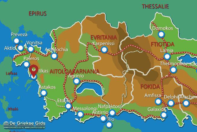 Map of Mytikas