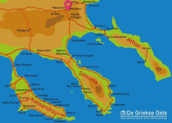 Map of Neochori