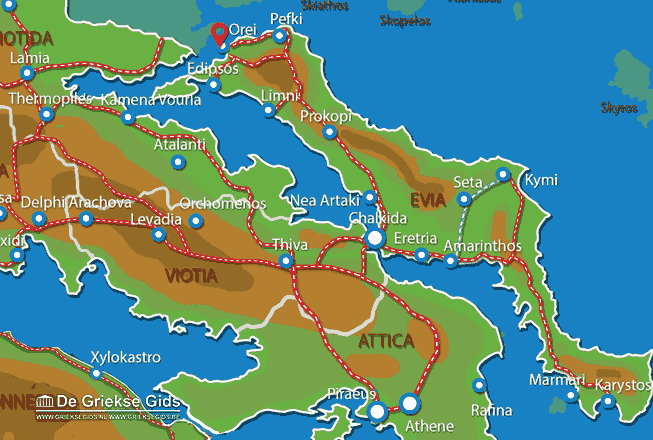 Map of Orei
