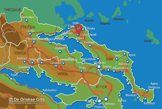 Map of Osios David