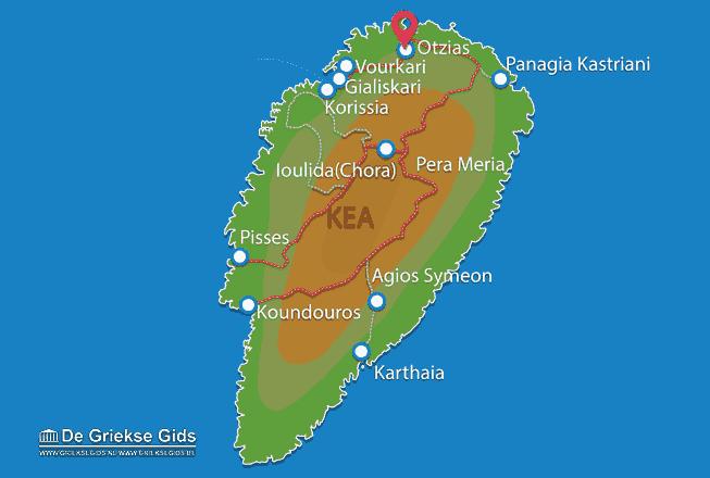 Map of Otzias