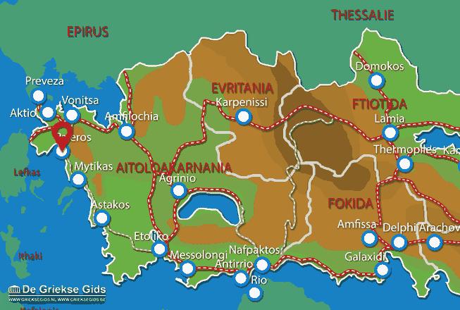 Map of Paleros