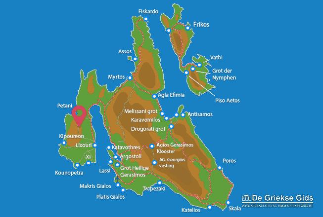 Map of Paliki