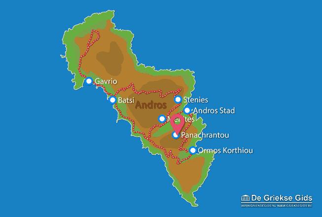 Map of Panachrantou