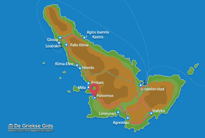Map of Panormos