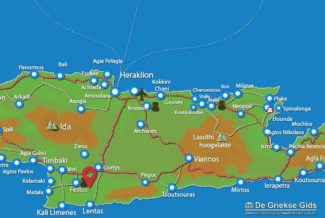 Map of Petrokefali