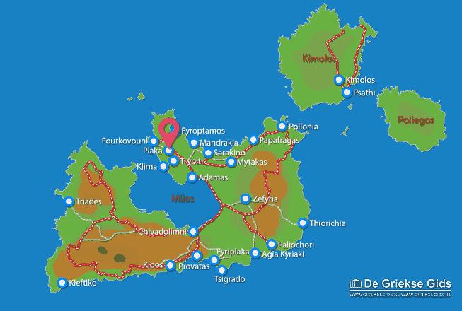 Map of Plaka