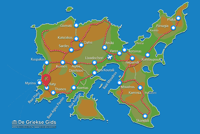 Map of Platy
