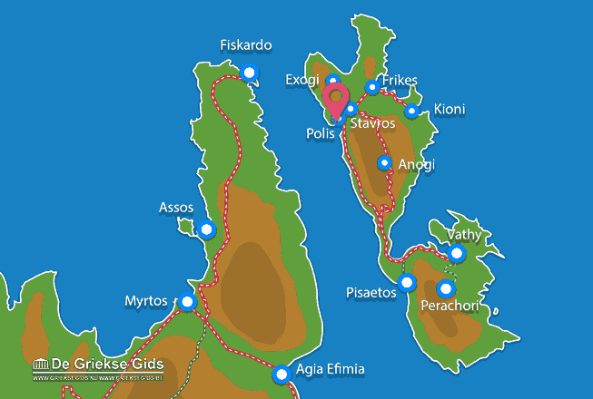 Map of Polis