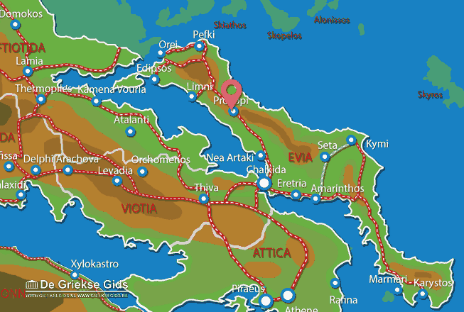Map of Prokopi
