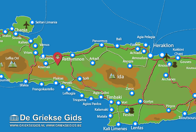 Map of Roustika